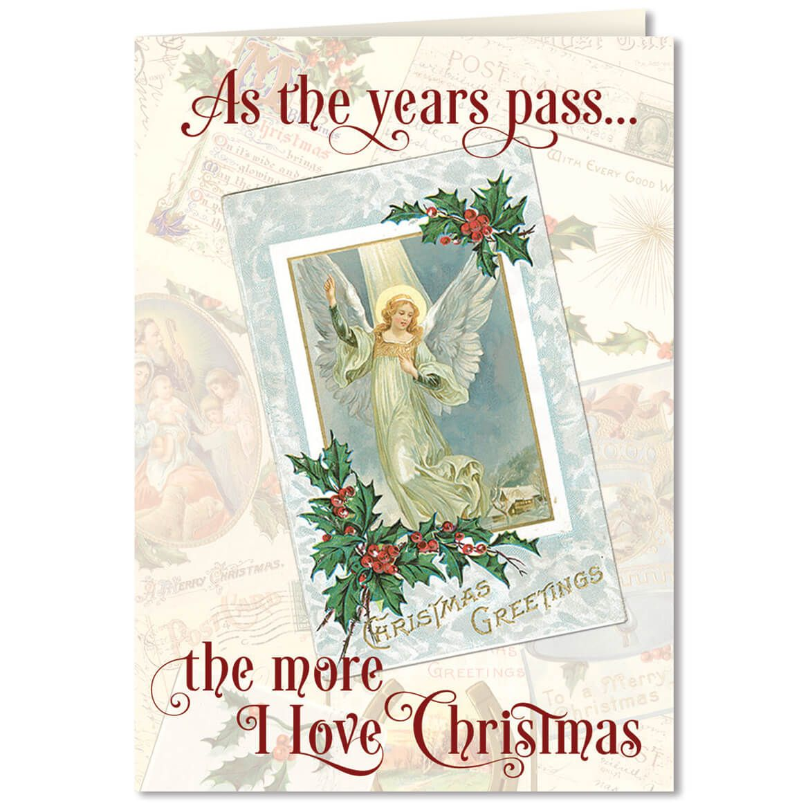 Personalized The More I Love Christmas Card Set of 20-360211