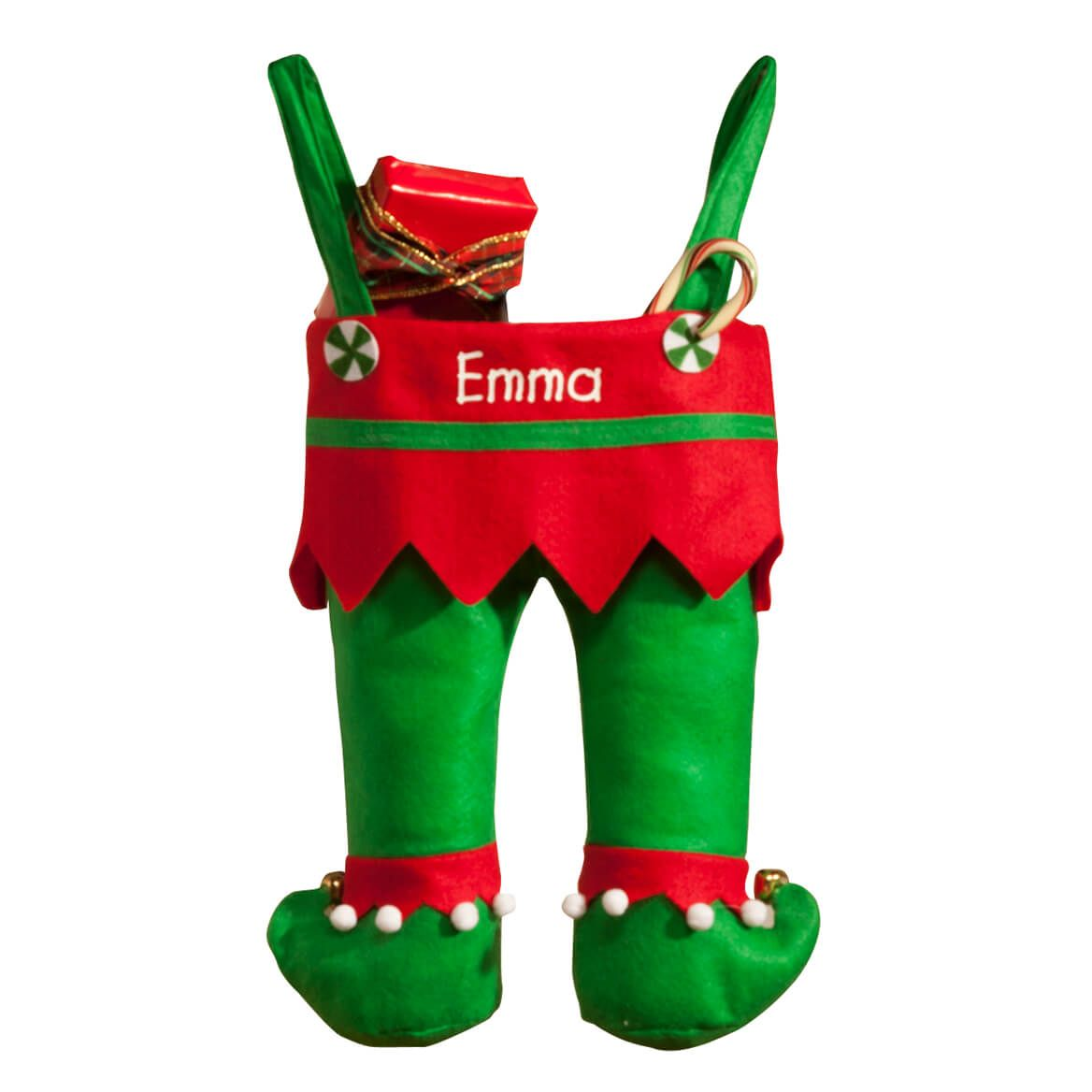 Personalized Elf Pants Stocking-360356