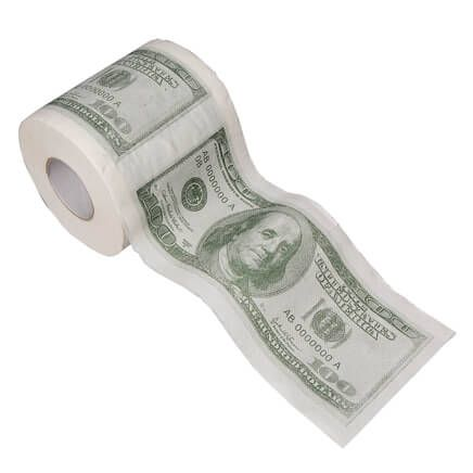 Hundred Dollar Toilet Paper-360520