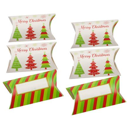 Pillow Treat Boxes, Set of 6-360594