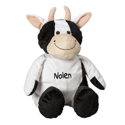 Personalized Stuffed Cow-360733