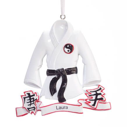 Personalized Karate Ornament-360902