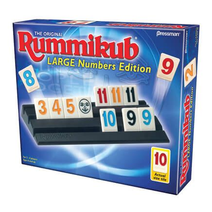Rummikub Game Large Numbers Edition-360940
