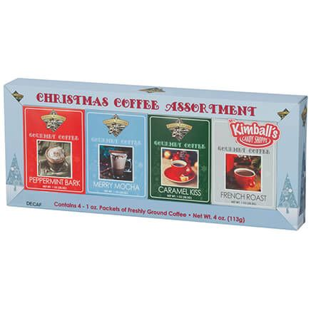 Christmas Decaf Coffee, Set of 4-361071