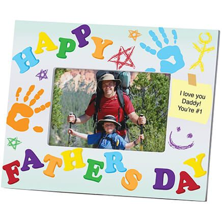 Personalized Father's Day Photo Frame – Kids' Creation-361172