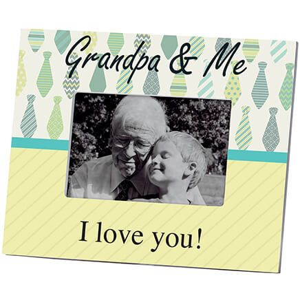 Personalized Grandpa & Me Picture Frame – Custom Frame-361174