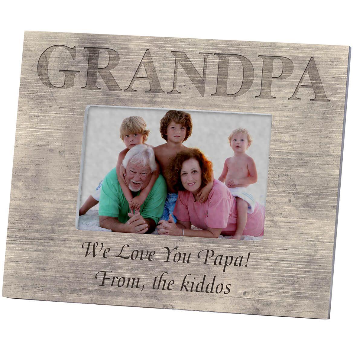 Personalized Shiplap Grandpa Frame-361181