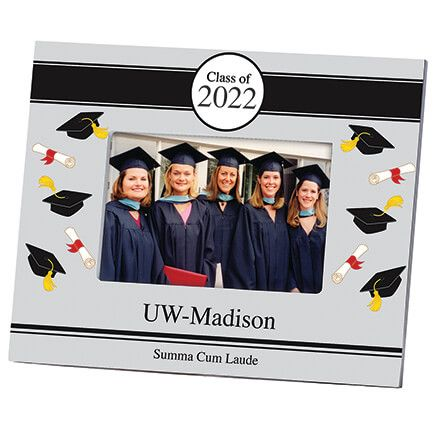Personalized Tossed Scroll Graduation Frame-361267