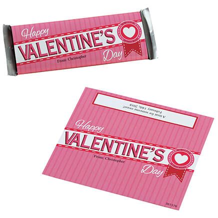 Personalized Candy Bar Wrappers Valentines-361578