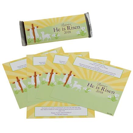 Personalized Candy Bar Wrappers Cross-361580