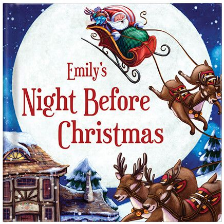 Personalized My Night Before Christmas Storybook-361604