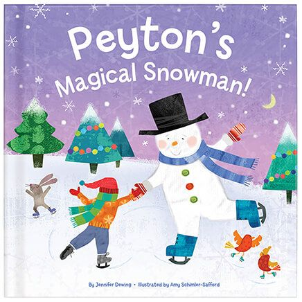 Personalized My Magical Snowman Storybook-361606