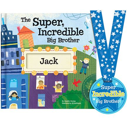 Personalized The Super Incredible Big Brother Book Storybook-361612