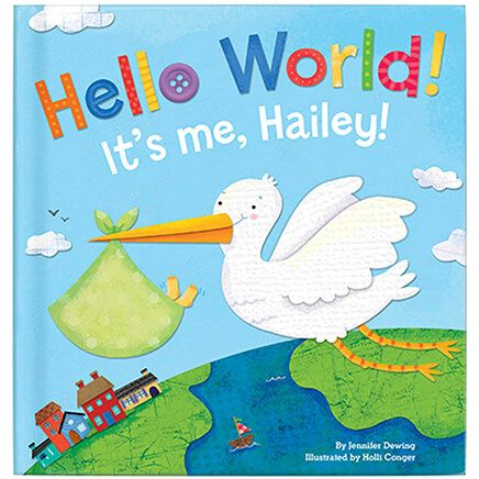 Personalized Hello World! for Boys Storybook-361615