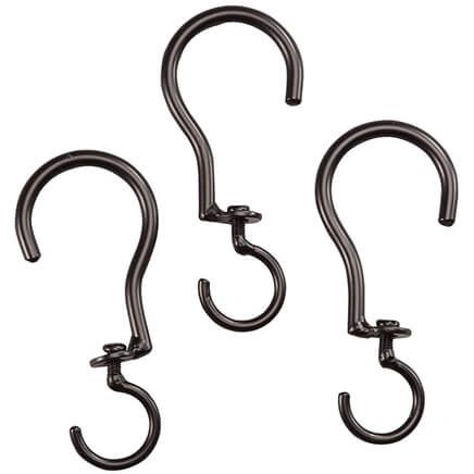 Swivel Basket Hooks, Set of 3-361796