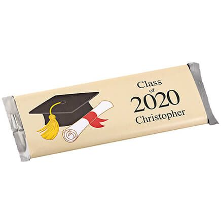 Personalized Candy Bar Wrappers Graduation Hat Set of 24-362043