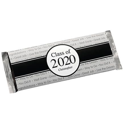 Personalized Candy Bar Wrappers Graduation Ribbon Set of 24-362045