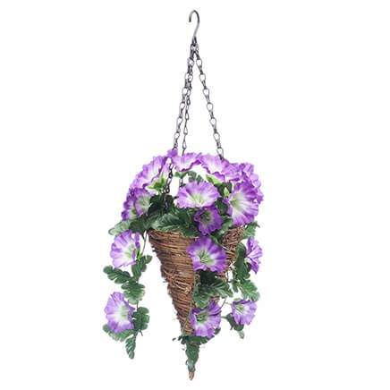 Fully Assembled Petunia Cone Basket by OakRidge™-362418