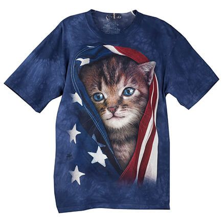 Patriotic Kitten T-Shirt-362522