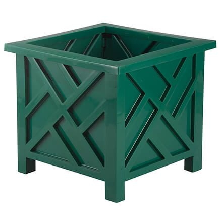 Green Chippendale Planter-362534