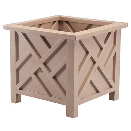 Tan Chippendale Planter-362814