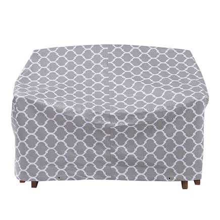 "Trellis Pattern Quilted Glider Cover, 78""L x 33""H x 37""W-362891"