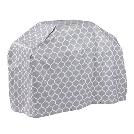 "Trellis Pattern Quilted Wagon Grill Cover, 60""L x 42""H x 22""-362894"
