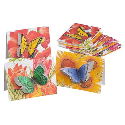 Butterfly Die-Cut Note Cards, Set of 12-362929