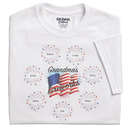 Personalized Fireworks T-Shirt-363036