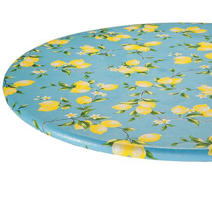 Lemon Tree Elastic  Vinyl Tablecover-363043
