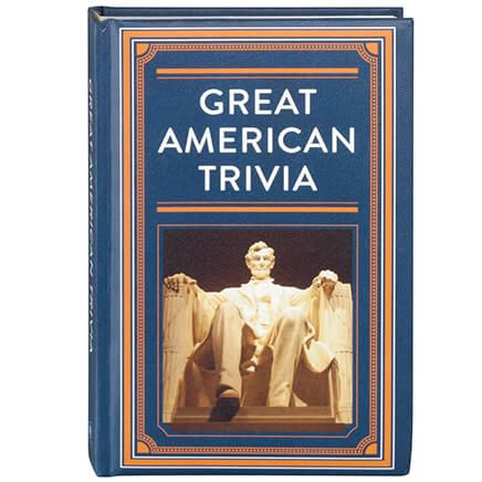 Great American Trivia Hardcover Book 272 Pages-363086