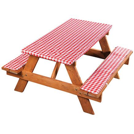 Deluxe Picnic Table Cover with Cushions-363250