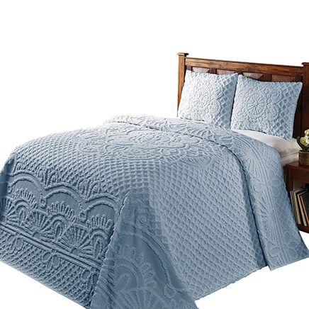 Trevor Chenille 3-Piece Bedding Set-363251