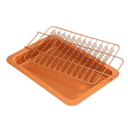 Copper Ceramic Bacon and Roasting Set by Home-Style Kitchen-363338