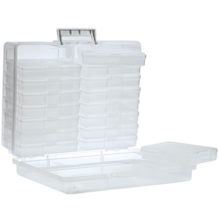 17-Piece Plastic Storage Case-363347