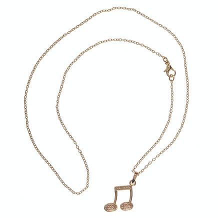 Musical Note Necklace-363480