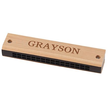 Personalized Wooden Harmonica-363496