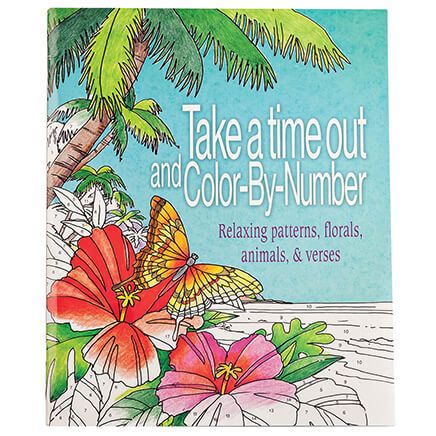 Take Time Out Color by Number Book-363500