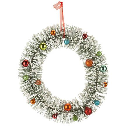 Vintage Bottle Brush Wreath by Holiday Peak™-363522