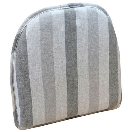 Liza Stripe Chair Pad-363581