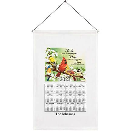 Personalized Faith, Hope, Love Calendar Towel-363758