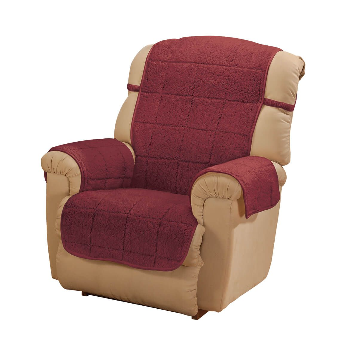 Parker Water-Resistant Sherpa Recliner Cover by OakRidge™-363769