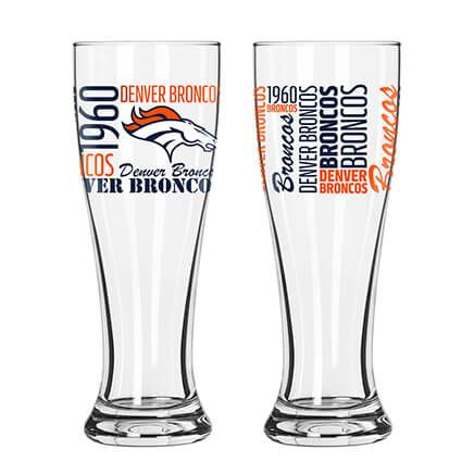 NFL Set/2 Pilsner Glasses-363772