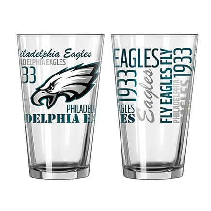 NFL Set/2 Pint Glasses-363775