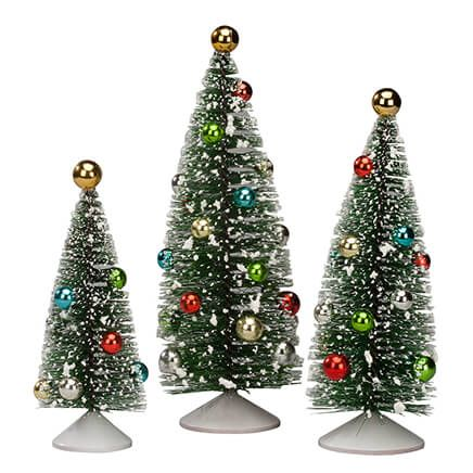 Nostalgic Christmas Trees Set of 3 Holiday Peak™-363789