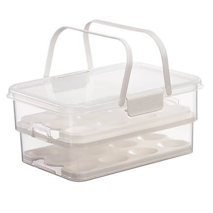 SnapLock™ Collapsible Egg Carrier-363827