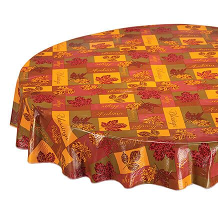 Falling Leaves Blessings Tablecover-363829