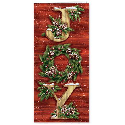 Christmas Joy Christmas Card Set of 20-364004