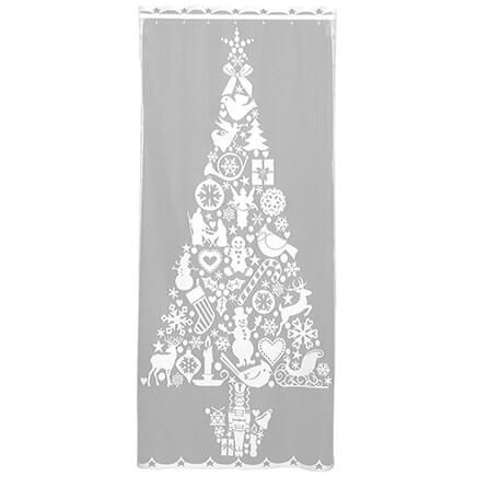 Christmas Tree Window Panel-364131