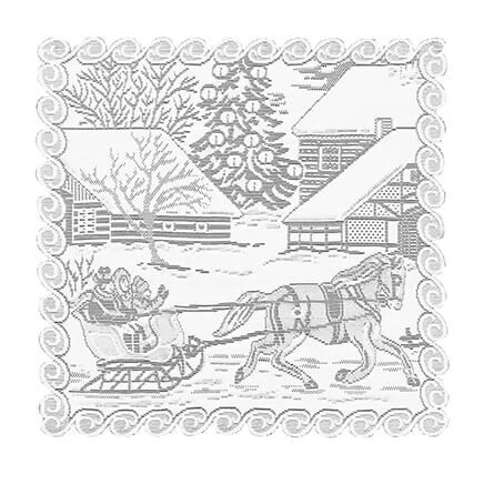Sleigh Ride Doilies-364139